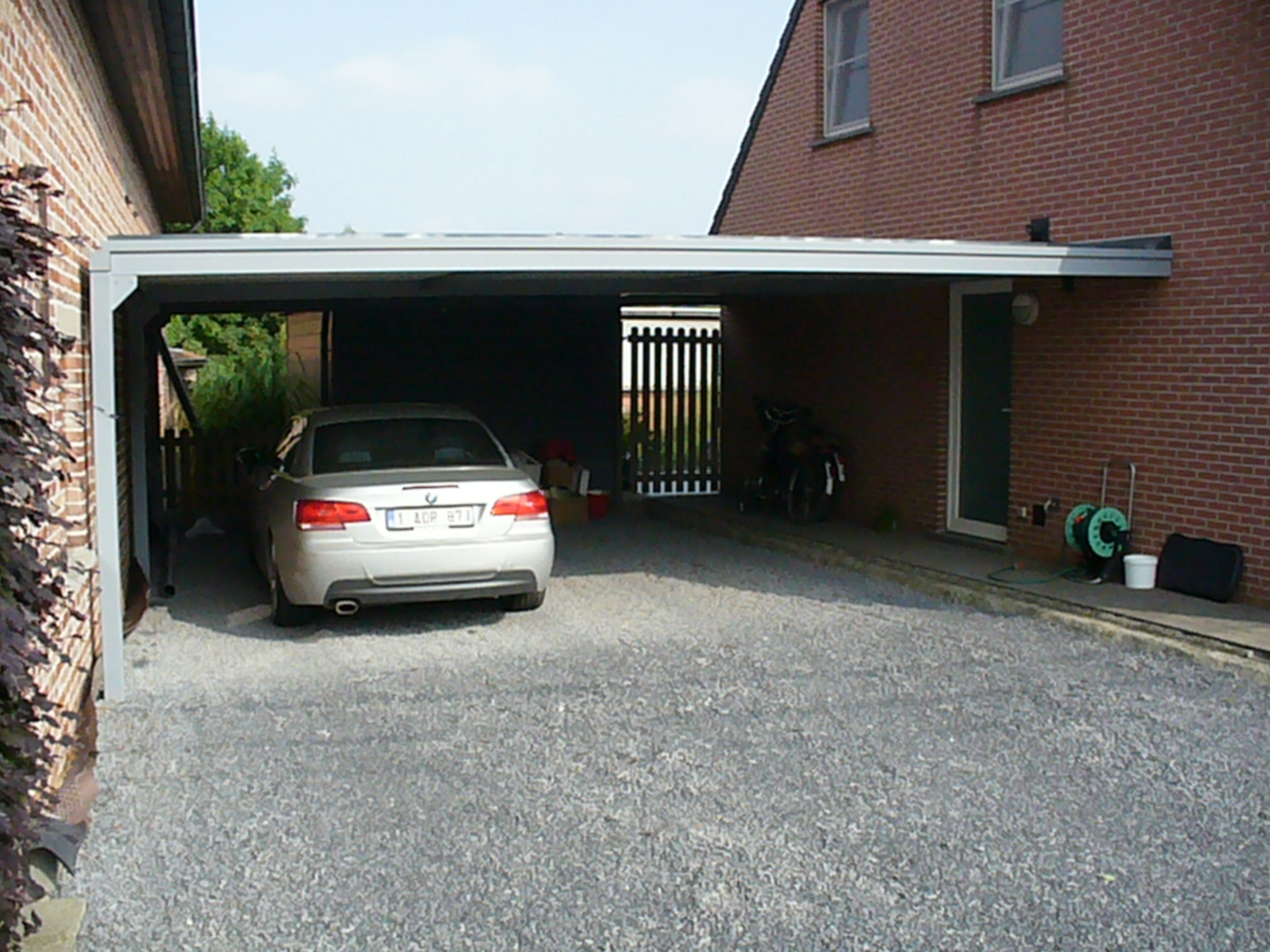 Realisaties vf construct for Attractive carport